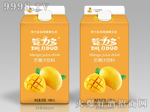 智力多芒果汁饮料488ml