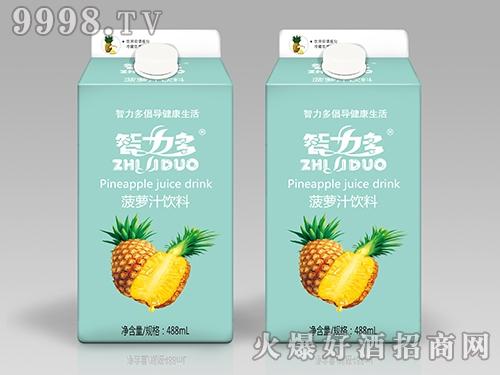 智力多菠萝汁饮料488ml