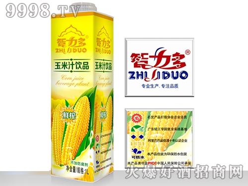 智力多方瓶玉米汁1L