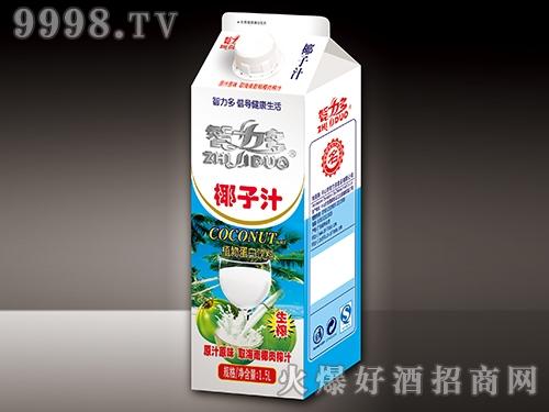 智力多椰子汁盒型1500ml