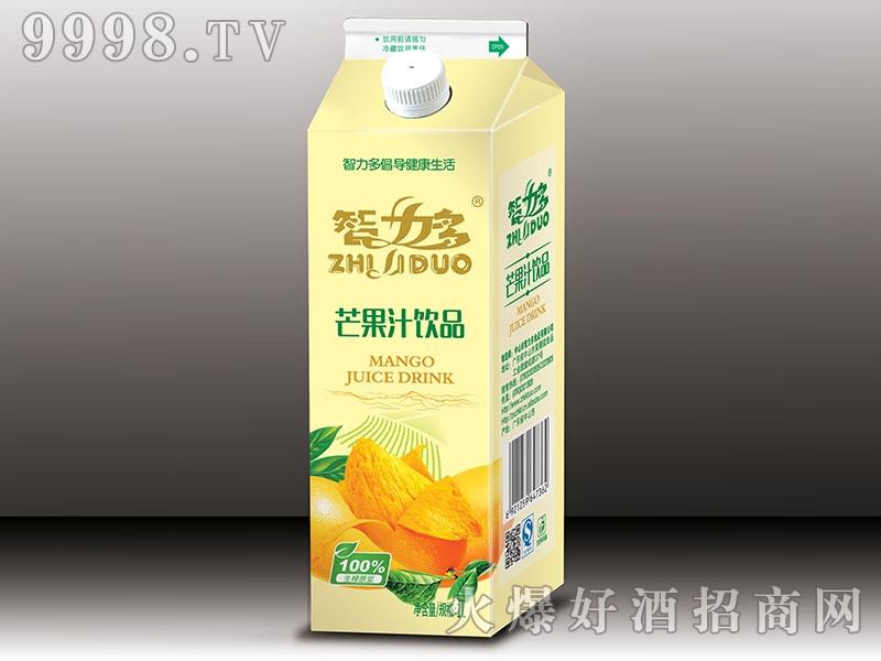 智力多芒果汁盒1L
