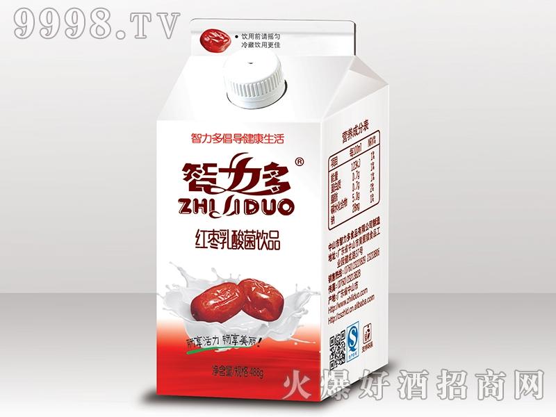 智力多红枣乳酸菌488ml