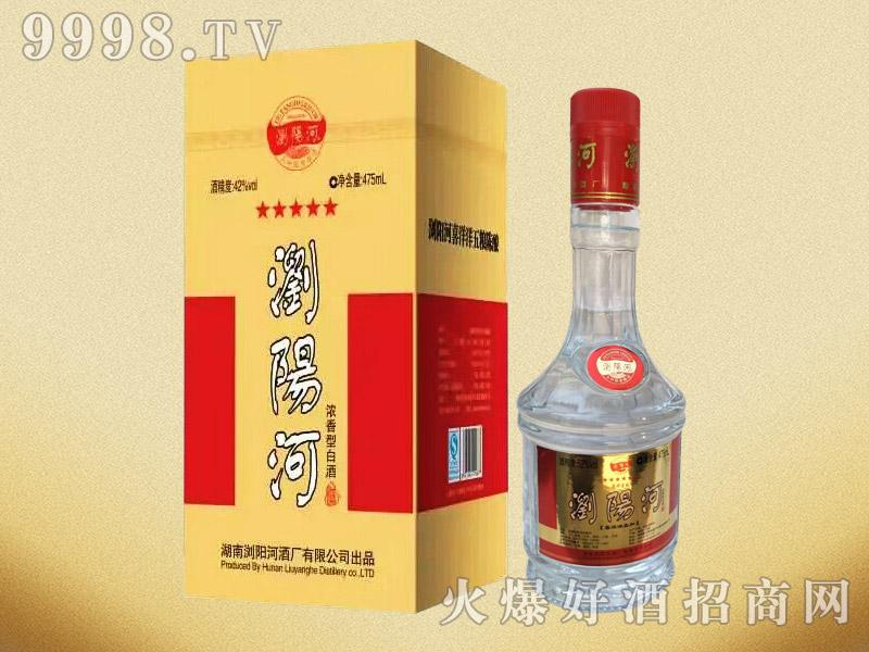 浏阳河酒浓香型白酒52°42°