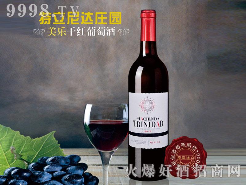 特立尼达庄园美乐干红葡萄酒