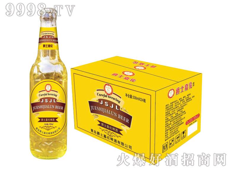 爵士嘉伦啤酒330mlx24(黄)