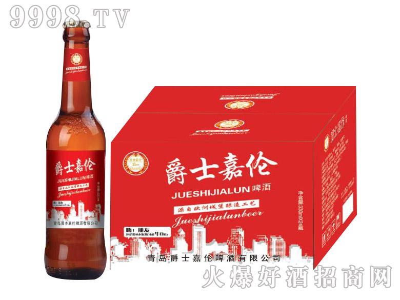 爵士嘉伦啤酒・红运330ml