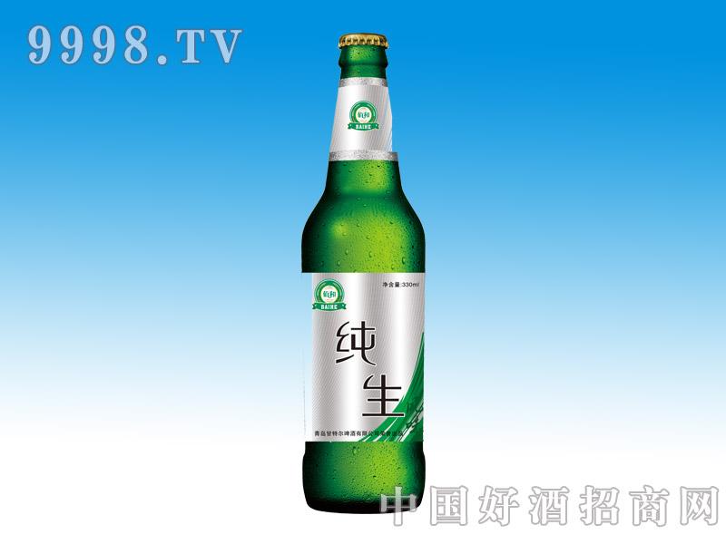 佰和纯生啤酒500ml