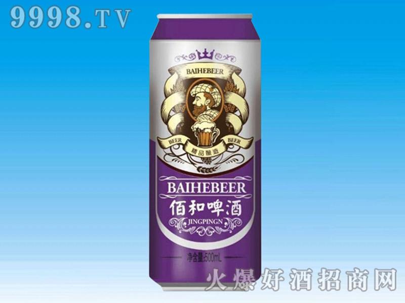 佰和皇冠啤酒罐装500ml