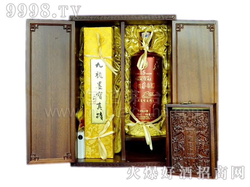 15年陈年茅台酒(九龙墨宝)