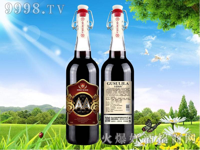 古苏里拉干红葡萄酒双A