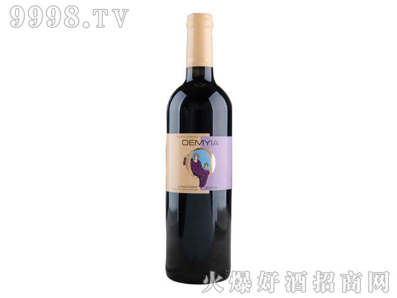 法国欧酩雅AOP干红葡萄酒