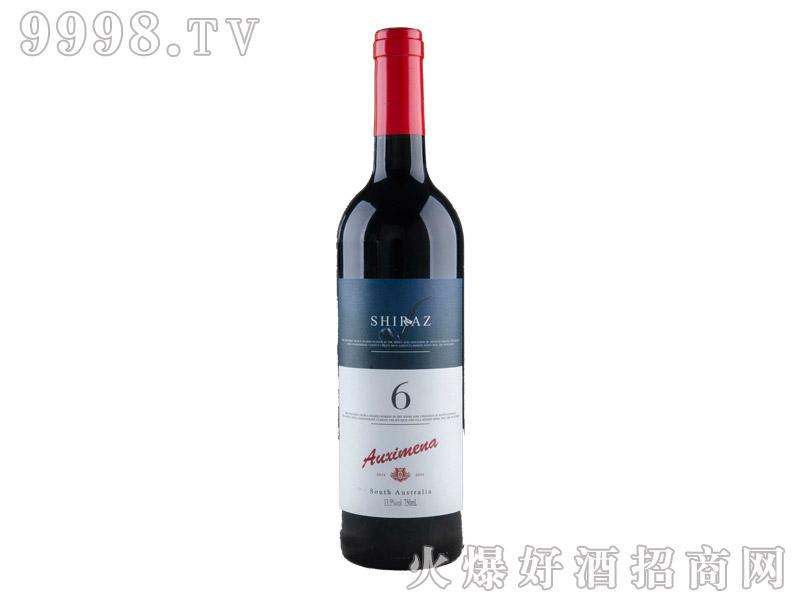 南澳进口澳溪美纳西拉6葡萄酒