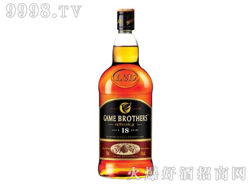 博弈兄弟18年威士忌