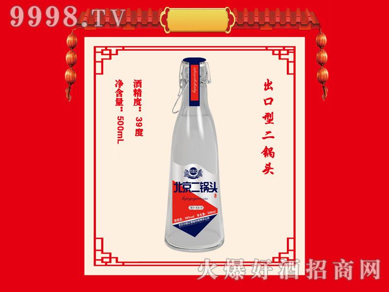 刘壶记北京二锅头酒39度