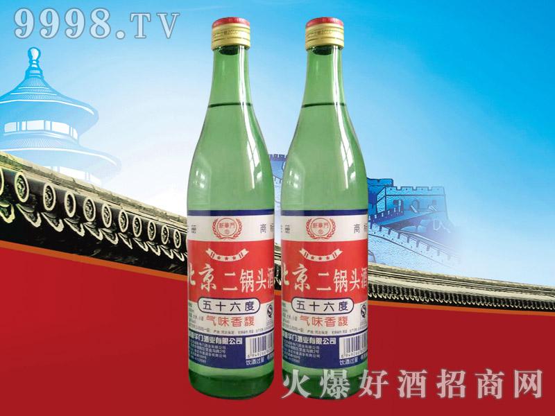 新华门北京二锅头酒56°500ml(绿瓶)