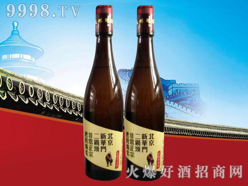 北京新华门二锅头棕瓶42°480ml