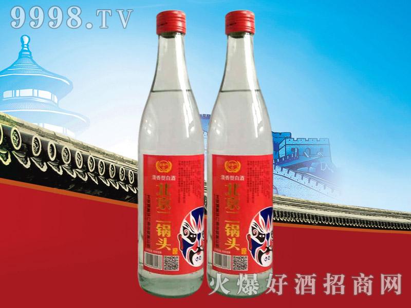 新华门北京二锅头脸谱酒46°500ml