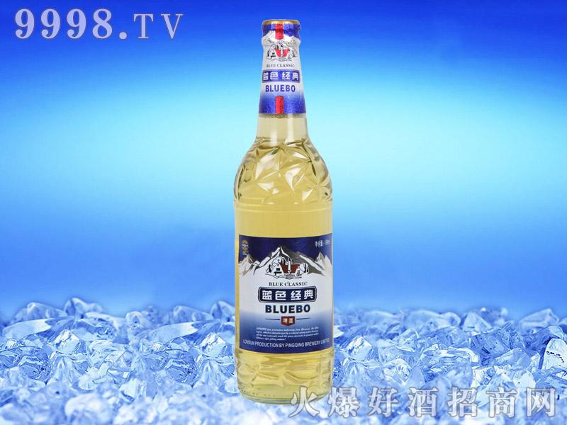蓝带蓝色经典啤酒488ml
