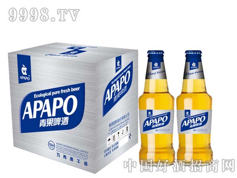 青果啤酒瓶装330ml