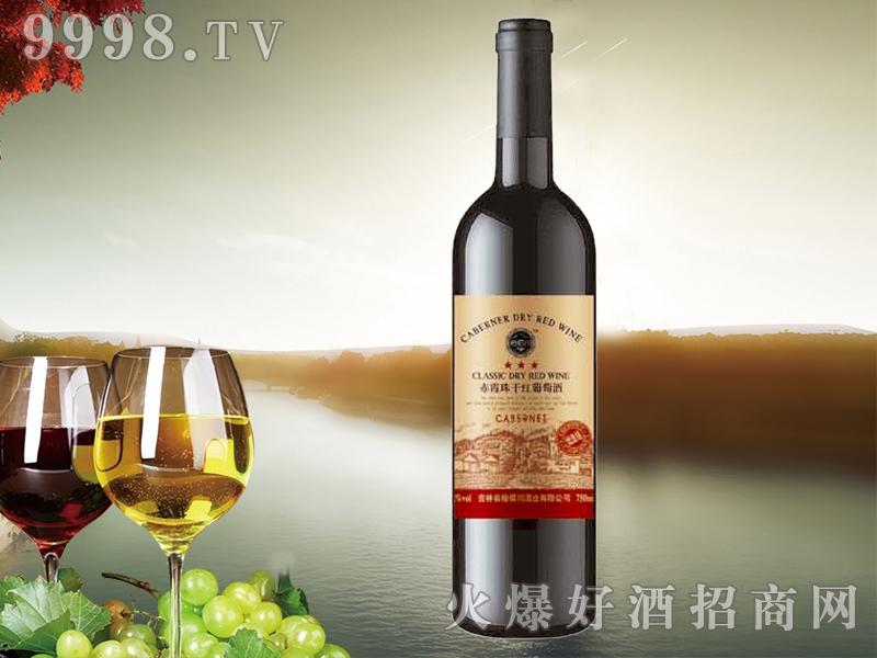 裕佰川赤霞珠干红葡萄酒(黄标)