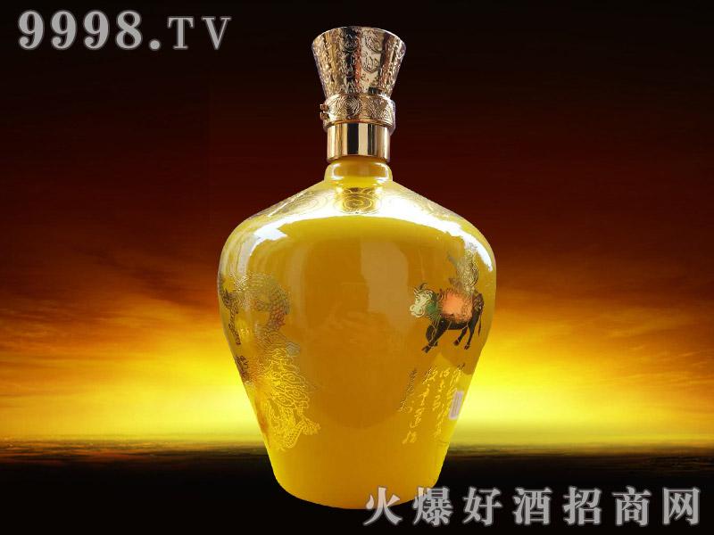 汾酒杏花村生态原酒背面