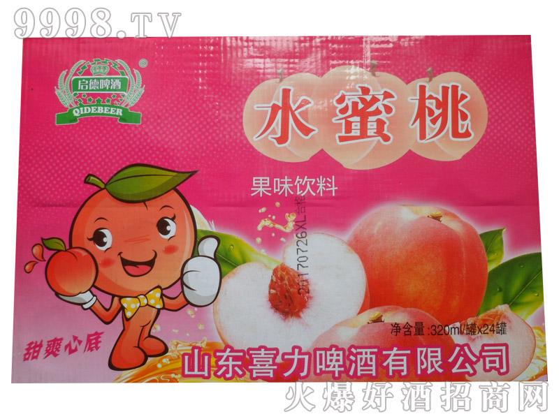 水蜜桃果味饮料