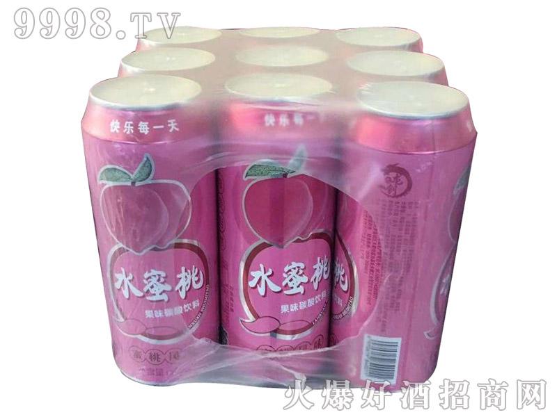 水蜜桃果味碳酸饮料