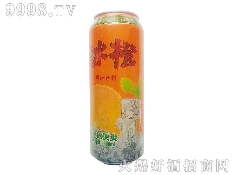 冰橙果味饮料500ml
