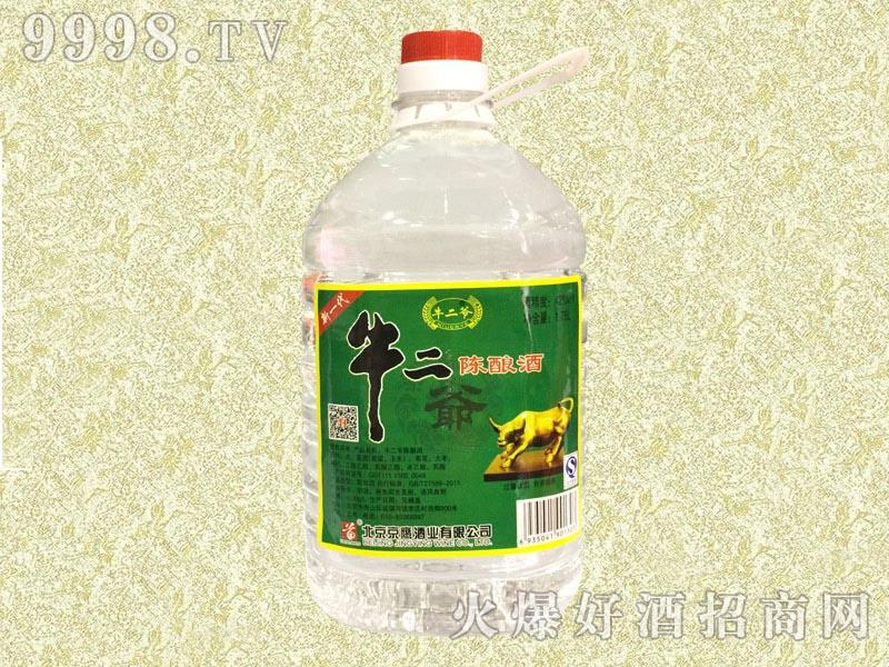 牛二爷陈酿酒42度1.75L