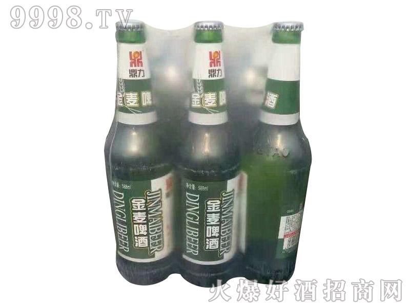 青伦鼎力金麦啤酒588ml