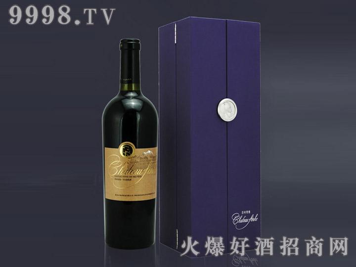 芬河帝堡品丽珠干红葡萄酒