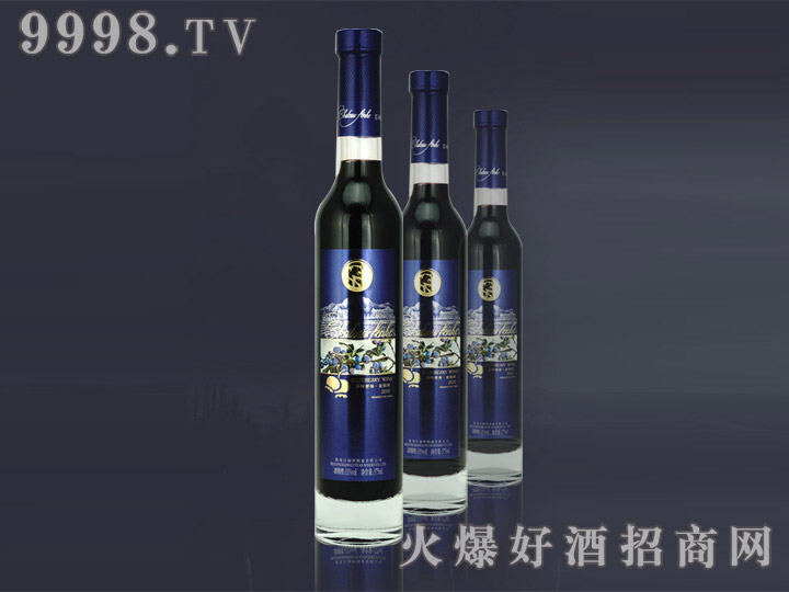 芬河帝堡2010年蓝莓酒375ml