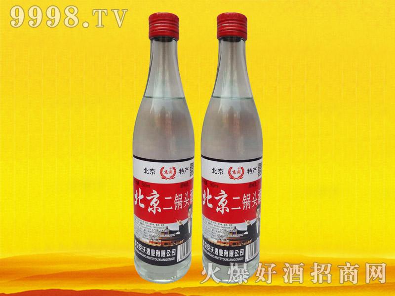京阔北京二锅头酒500ml(白瓶)