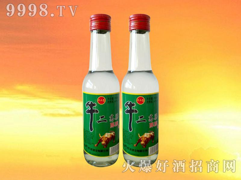 牛二高粱陈酿酒42°260ml