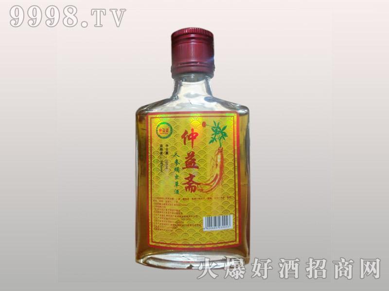 仲益斋人参蛹虫草酒38度125ml