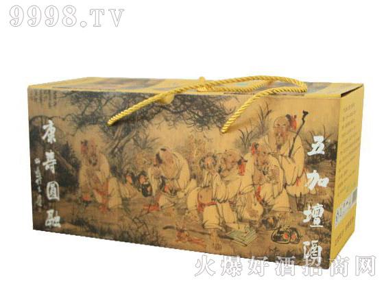 五加��酒礼盒装500mlX3