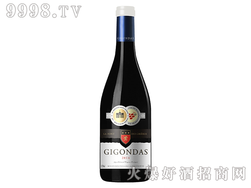 吉恭达斯干红葡萄酒JK033