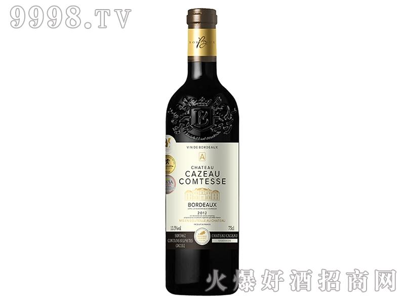 伯爵城堡干红葡萄酒JK031