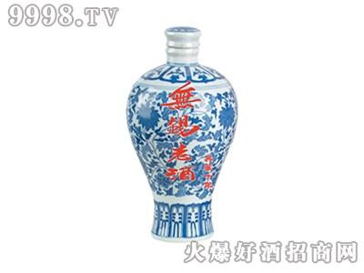 玉祁青花瓷1500ml清爽型半甜黄酒