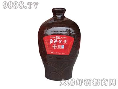 玉祁优黄1500ml清爽型半甜黄酒