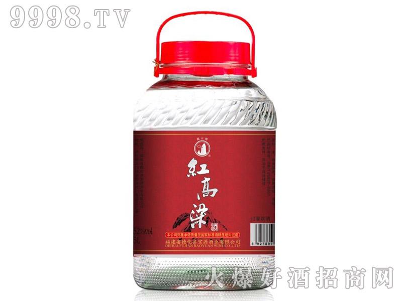 戴云牌・红高粱酒5L
