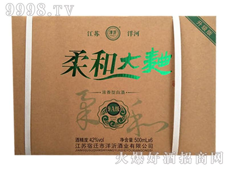 柔和大曲酒9A级42度500mlx6