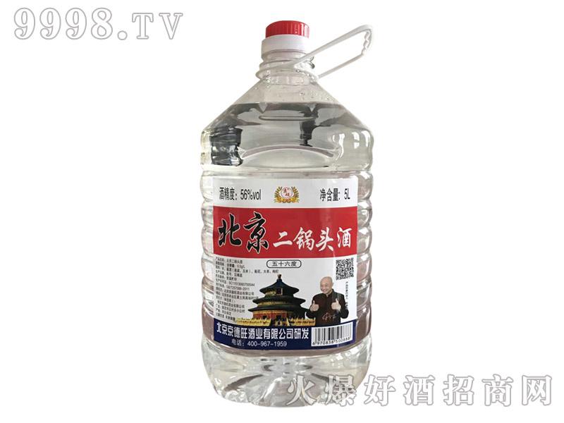 京硕北京二锅头酒56度5L