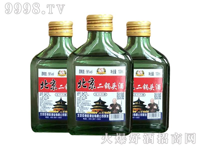 京硕北京二锅头酒56度100ml(金标)