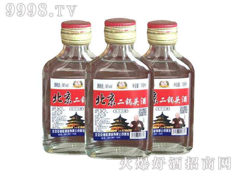 京硕北京二锅头酒56度100ml(白瓶)
