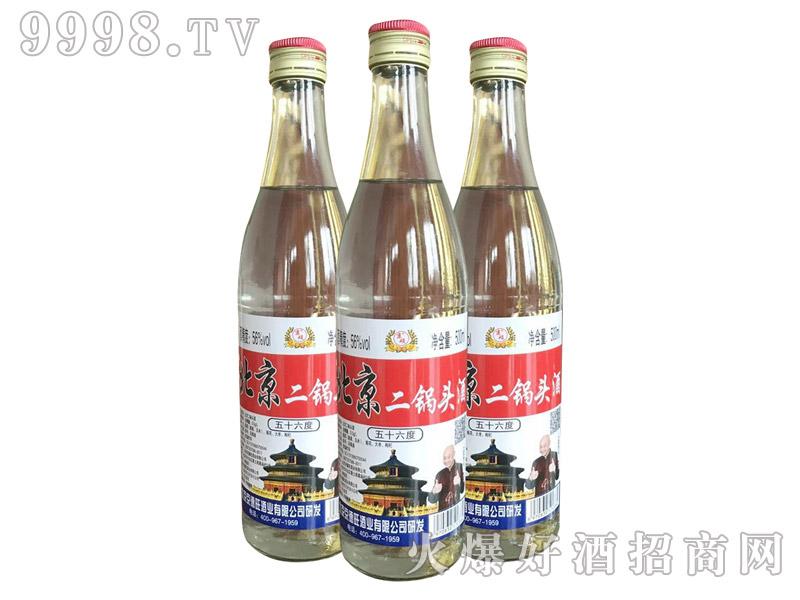 京硕北京二锅头酒56度500ml(白瓶)