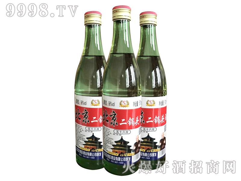 京硕北京二锅头酒56度500ml(绿瓶)