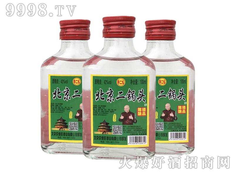 京硕北京二锅头酒・陈酿精品42度100ml
