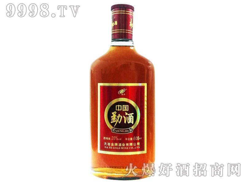 大冶金牌中国勐酒600ml