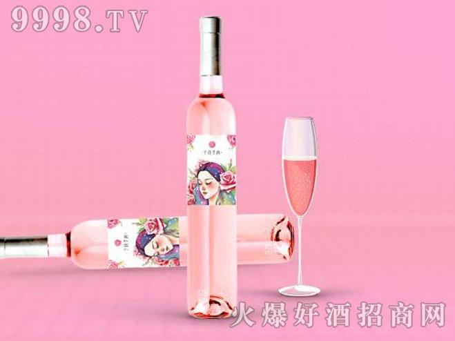 予花予尚玫瑰花酒-女性用酒375ml